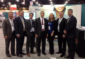 Members of the BedWatch team at AONE 2015